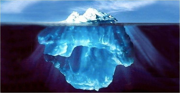 La intuición y las primeras impresiones. Iceberg