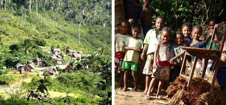 Madagascar. Aldeas remotas