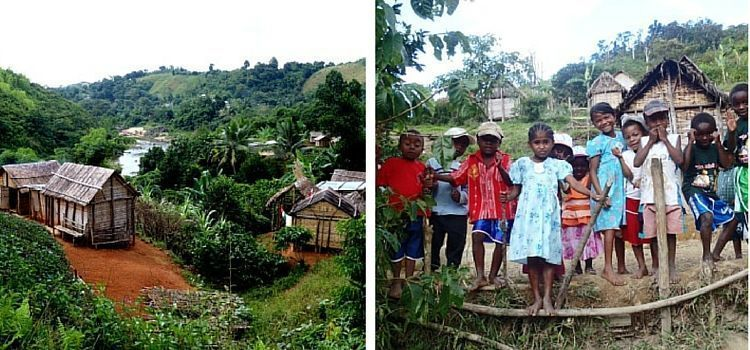 Madagascar: aldeas perdidas y niños sonrientes