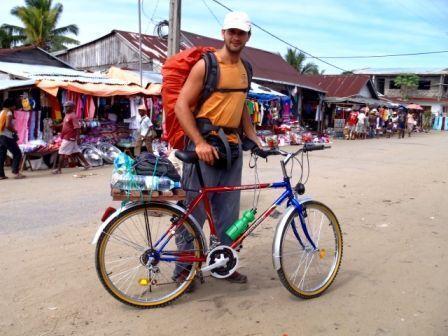 Madagascar. Por fin logré hacerme con una bicicleta