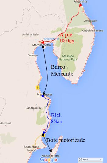Madagascar. Mi ruta por la costa de la vainilla