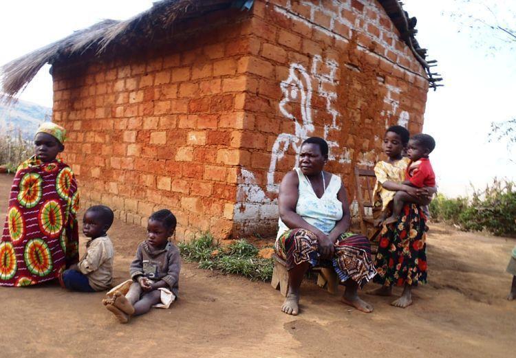 Mozambique. Foto de la rainha de Namuli