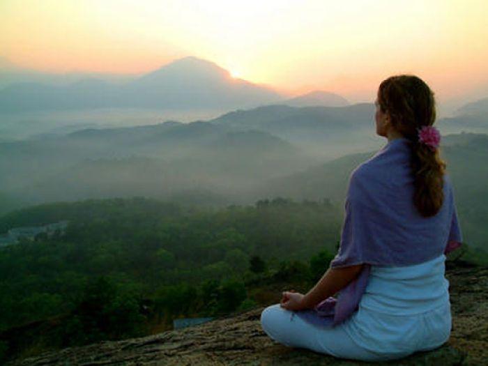Meditación. Técnica de la mente en blanco