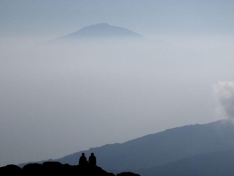 Kilimanjaro. Vistas del Monte Meru