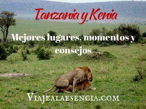Tanzania y Kenia. Portada