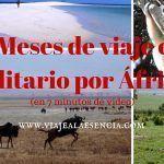 3 meses de viaje en solitario por África (en 7 minutos de video)