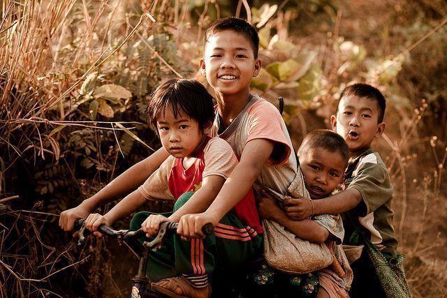 Viajar a Tailandia. Gente del paía.