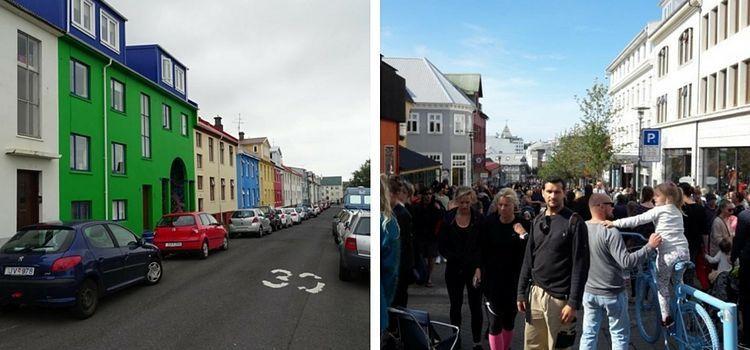 Islandia. Reykjavik