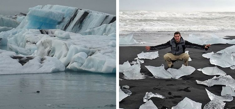 Islandia. Lagunas glaciares