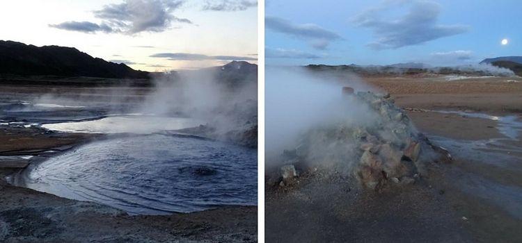 Islandia. Hverir