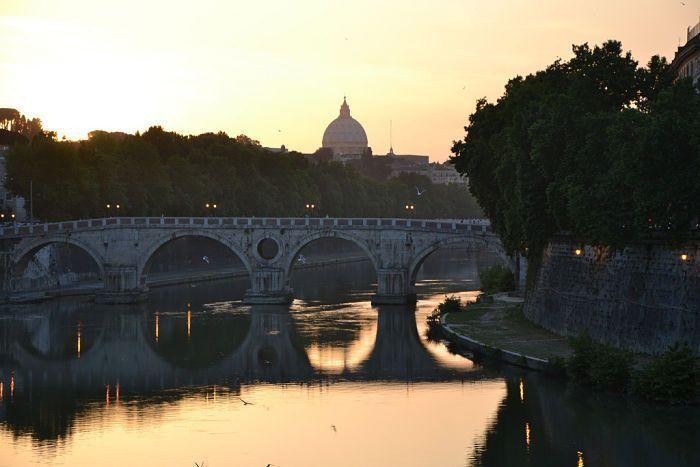 Roma. Río Tiber