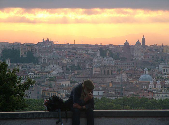 Roma. Colina Gianicolo