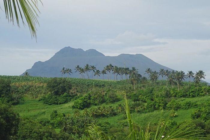 Isla de Martinica. Volcán de la Soufrière