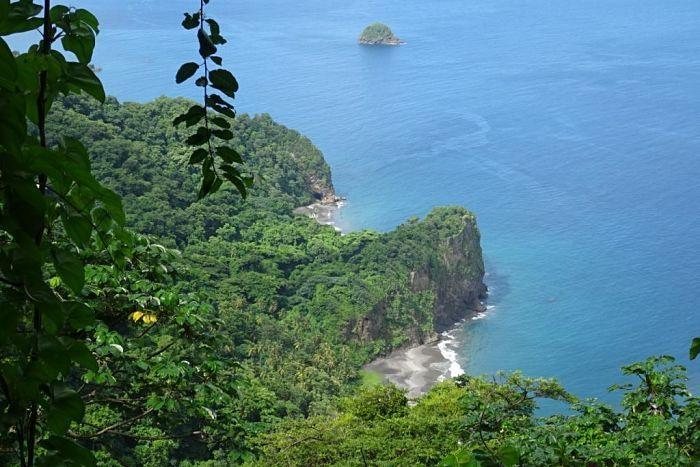 Isla de Martinica. Su exuberante vegetación