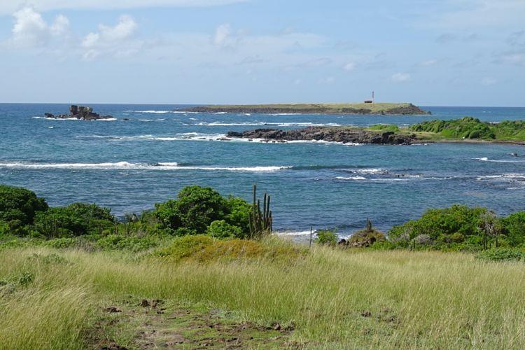 Isla de Martinica. Trace du Caps