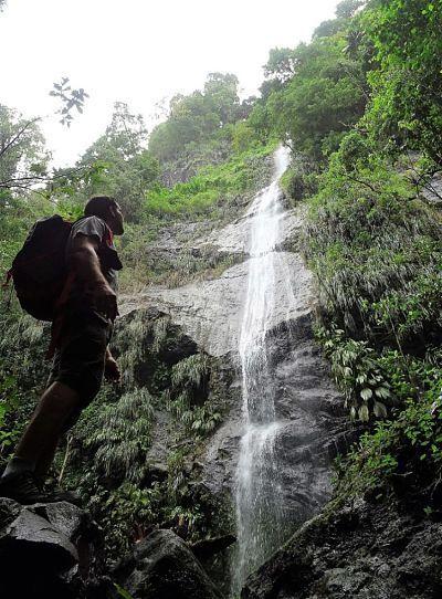 Isla de Martinica. Cascada Coulèvre