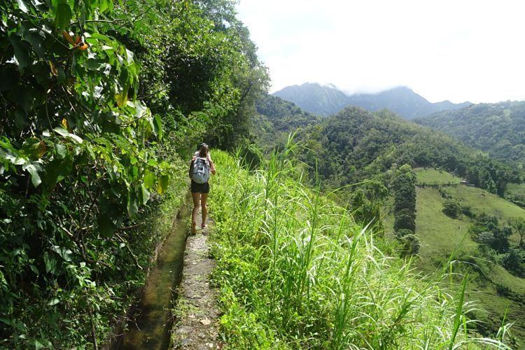Isla de Martinica. Canal des Escalves