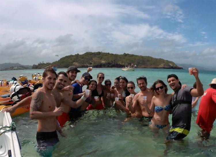 Isla de Martinica. Islotes de François