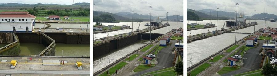 Panamá y Costa Rica. Canal de Panamá 2