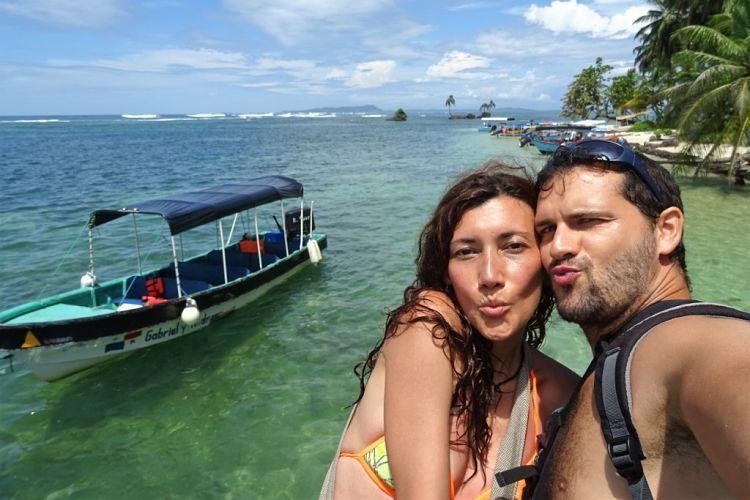 Panamá y Costa Rica. En Bocas del Toro