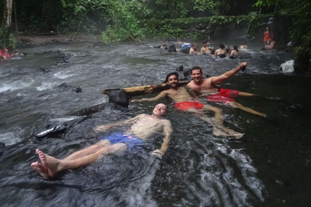 Panamá y Costa Rica. Termas calientes de La Fortuna