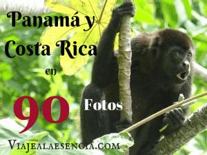 Panamá y Costa Rica en 90 fotos. Portada