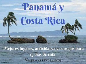 Panamá y Costa Rica. Portada