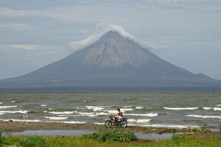 Nicaragua, Honduras y El Salvador. Volcán Concepción, Isla de Omepete