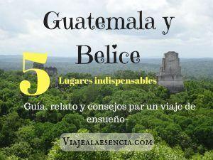 Guatemala y Belice. Portada