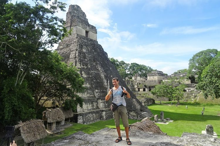 Guatemala y Belice. Las ruinas de Tikal.