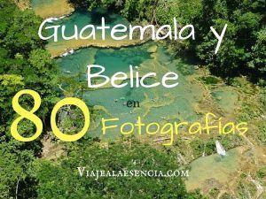 Guatemala y Belice en 80 fotos. Portada