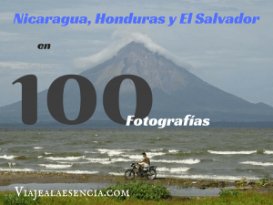 Nicaragua, Honduras y El Salvador en 100 fotos. Portada