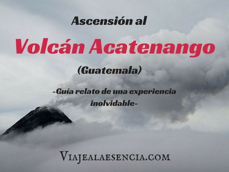 Volcán Acatenango. Portada