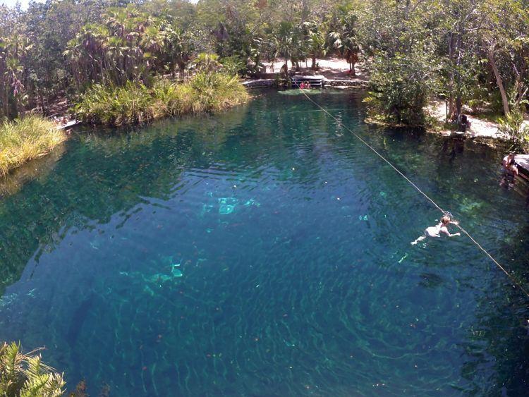 Mejores cenotes de México. Cenote Cristal