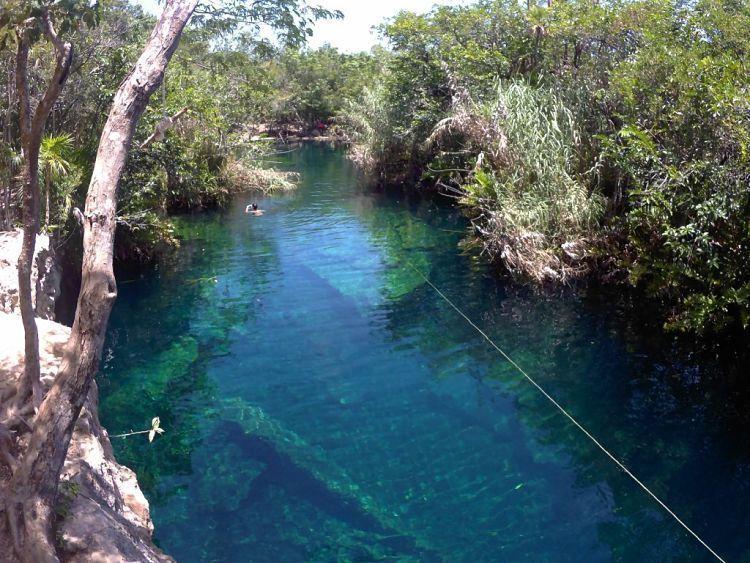 Mejores cenotes de México. Cenote Escondido.