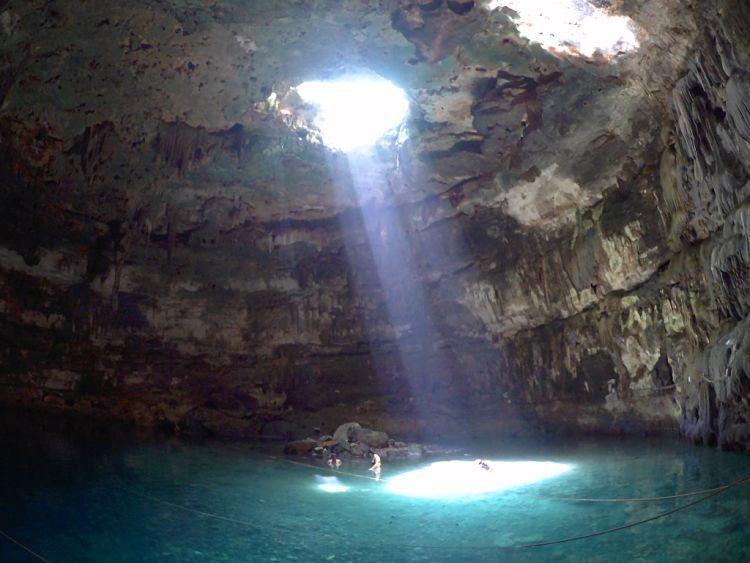 Mejores cenotes de México. Cenote Samulá