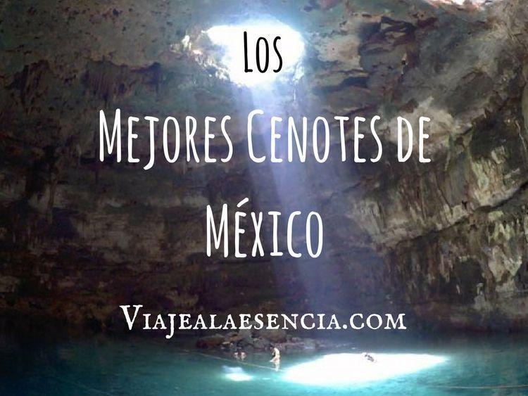 Mejores cenotes de México. Portada