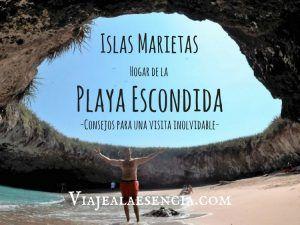 Islas Marietas, hogar de la playa Escondida. Consejos para una visita inolvidable