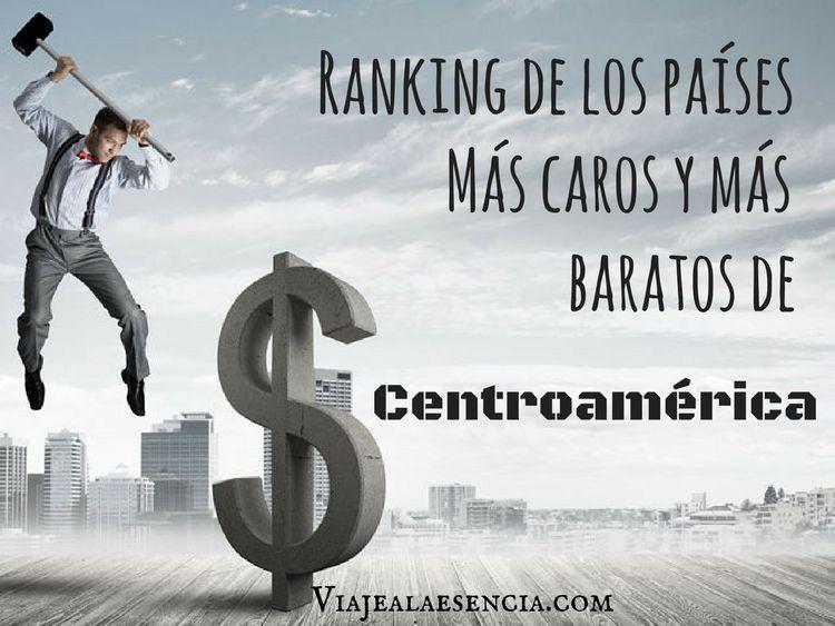Países más caros y más baratos de Centroamérica. Portada