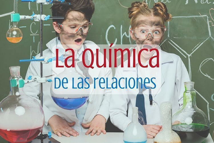 La química de las relaciones. Portada