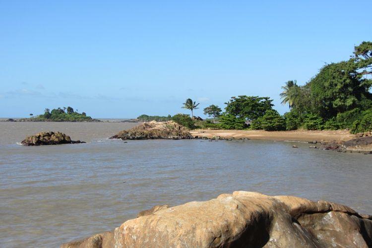 Guayana francesa. Sus playas.