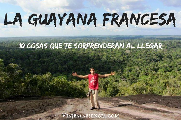 Guayana francesa. 10 cosas. Portada