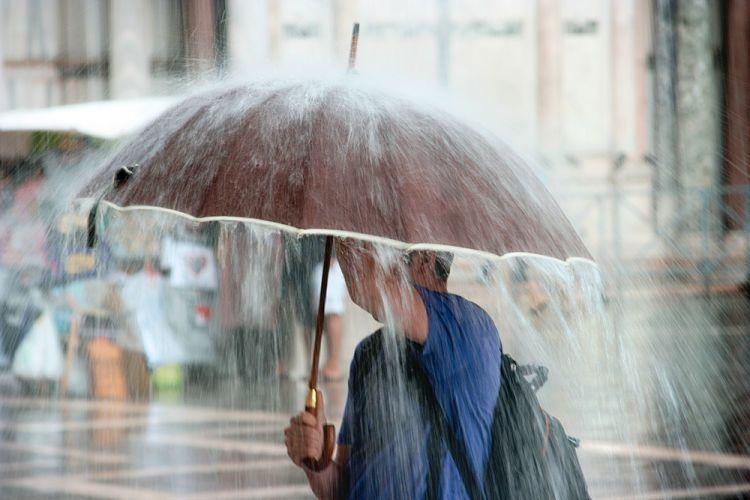 Guayana francesa. Su clima lluvioso.