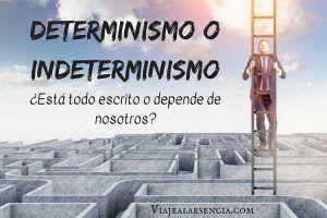 Determinismo e indeterminismo. Portada