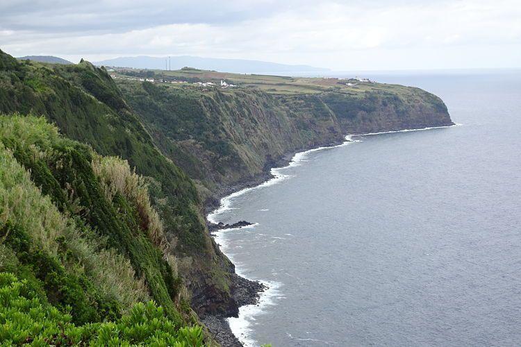 Azores. Los acantilados del noreste de Sao Miguel