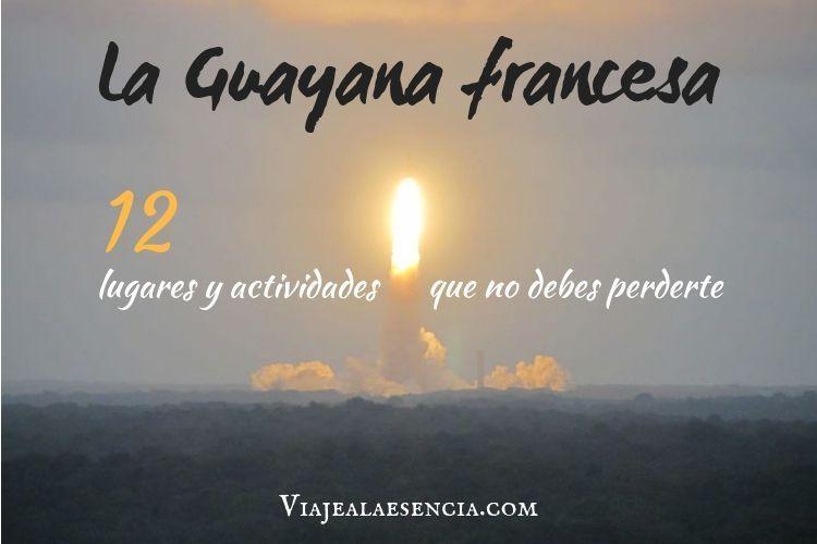 Guayana francesa lugares. Portada
