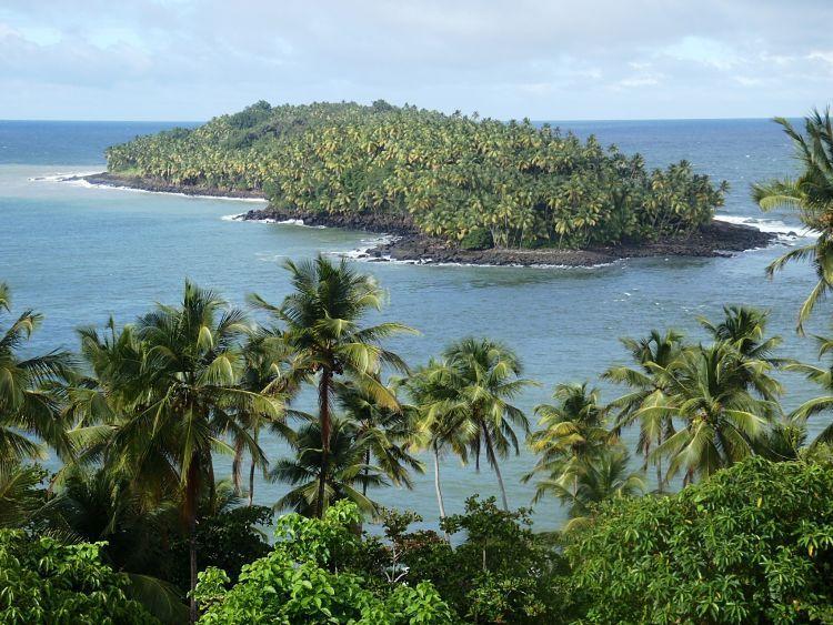 Guayana francesa lugares. Islas de la Salud