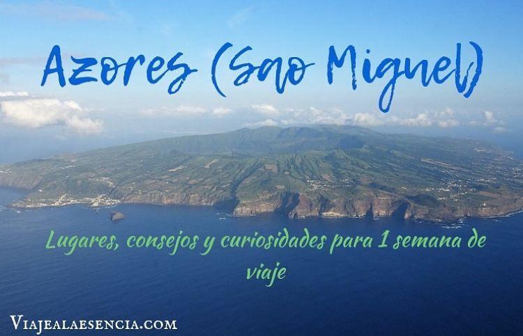 Azores. Portada