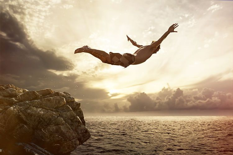 Saltar al vacío durante un ciclo de tu vida