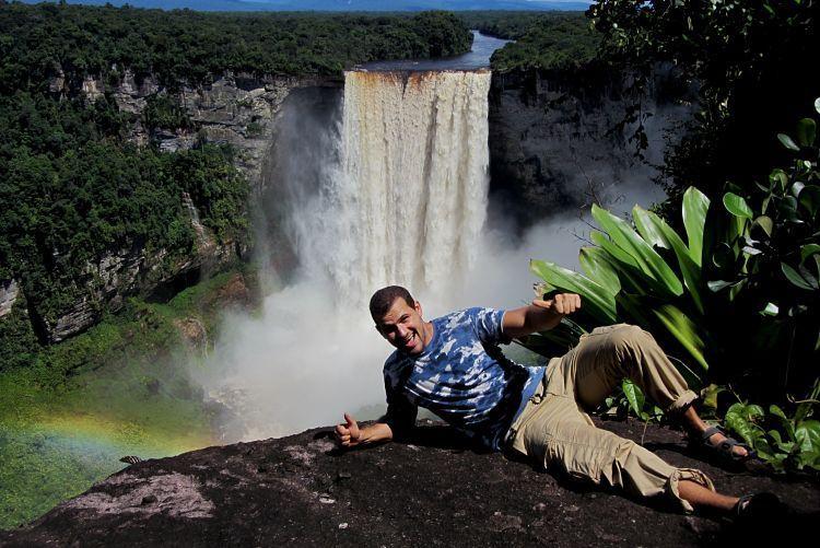Surinam y Guyana. Kaieteur Falls